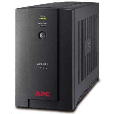 APC Back-UPS 1400VA, 230V, AVR, IEC Sockets (700W)