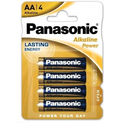 PANASONIC Alkalické baterie Alkaline Power LR6APB/4BP AA 1,5V (Blistr 4ks)