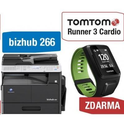 Minolta kopírka bizhub 266 (A3, 26ppm, Duplex, LAN/USB, GDI) + TomTom Runner 3 Cardio