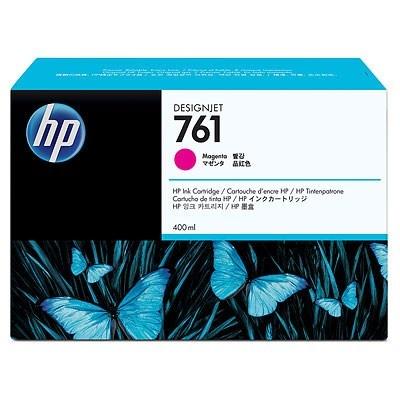 HP 761 Magenta DJ Ink Cart, 400 ml, CM993A