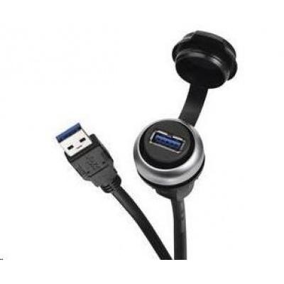 CONRAD USB vestavný adaptér Lütze 490113.0150, IP20/IP65, Typ A, 3 m