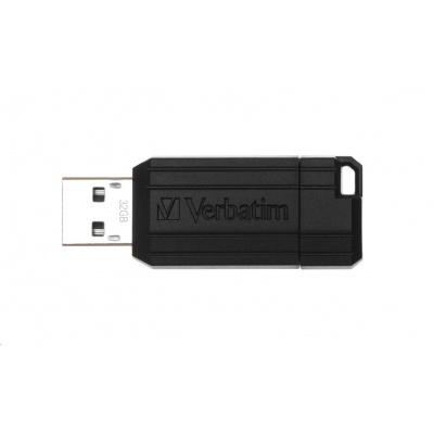 VERBATIM USB Flash Disk Store 'n' Go PinStripe 32GB - černá