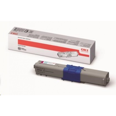 Magenta toner do C310/330/331/510/511/530/531/MC351/352/361/362/561/562 (2 000 stránek)