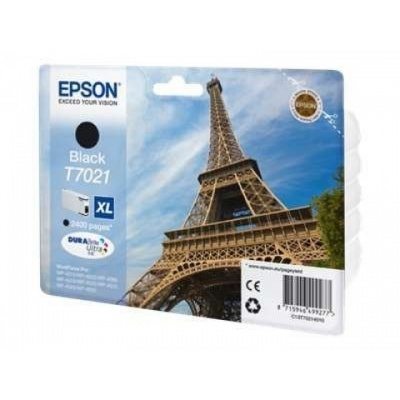 EPSON Ink čer WorkForce-4000/4500 - Black XL-2400str. (45,2 ml)