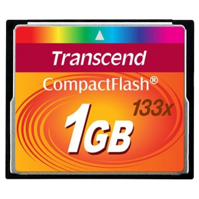 TRANSCEND Compact Flash 1GB (133x)