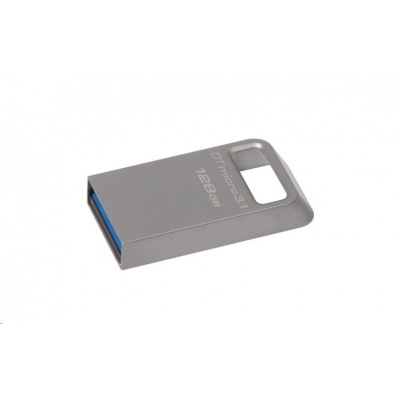 Kingston 128GB USB 3.0 DataTraveler Micro 3.1 - kovový