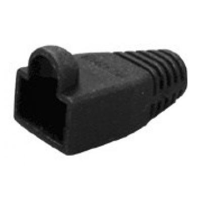Ochrana pro konektor RJ45, snag-proof - černá, 100ks