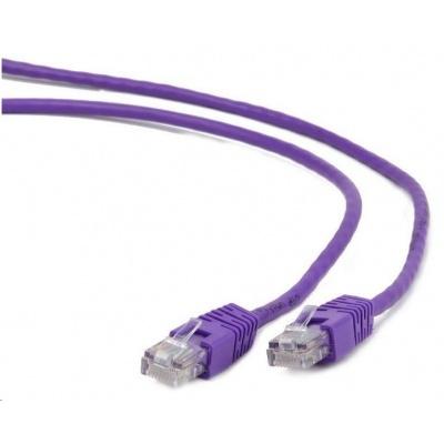 GEMBIRD Kabel UTP Cat5e Patch 2m, fialový