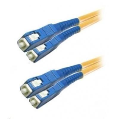 Duplexní patch kabel SM 9/125, OS2, SC-SC, LS0H, 2m