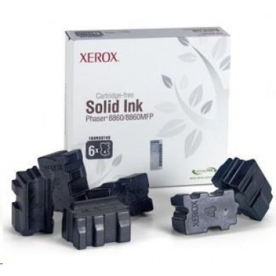 Xerox Genuine Solid Ink pro Phaser 8860 Black (6 STICKS)