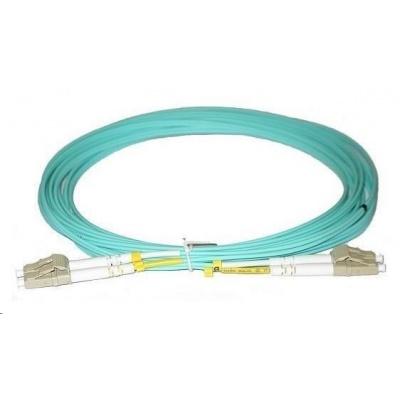 Duplexní patch kabel MM 50/125, OM3, LC-LC, LS0H, 2m