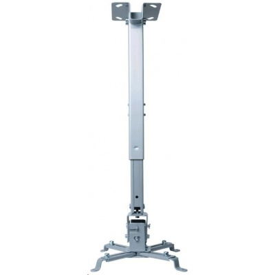 CONNECT IT Stropní držák projektoru P2 43-65cm, naklápěcí (±30°, max. 20kg)
