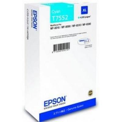 EPSON Ink bar WF-8xxx Series Ink Cartridge XL Cyan - 4000str. (39 ml)