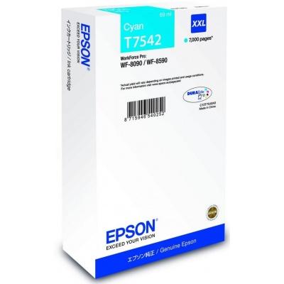 EPSON Ink bar WF-8xxx Series Ink Cartridge XXL Cyan -  7000str. (69 ml)
