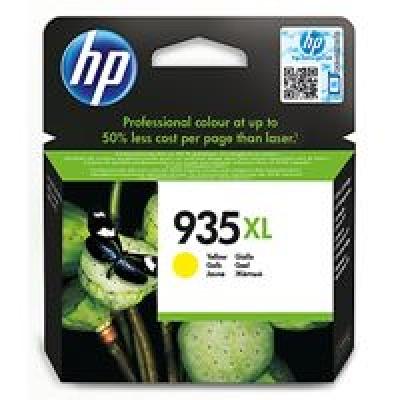 HP 935XL Yellow Ink Cartridge, 825str, C2P26AE