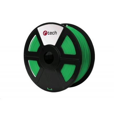 C-TECH Tisková struna (filament) ASA, 1,75mm, 1kg, zelená