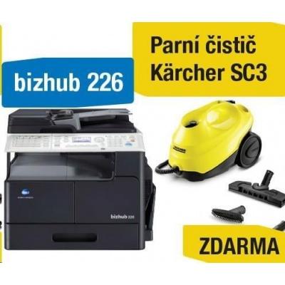 Minolta kopírka bizhub 226 SET1 (bh226 + DF-625 + AD-509 + MK-749 + NC-504) + Kärcher čistič SC3