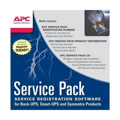 APC 1 Year Service Pack Extended Warranty (for New product purchases), SP-08