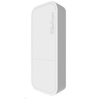 MikroTik wAP, white, 650MHz CPU, 64MB RAM, 1x LAN, integr. 2.4GHz Wi-Fi, 2x2MIMO, 2dBi anténa, vč. L4