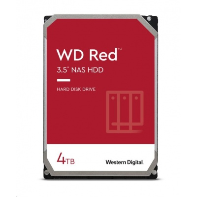 WD RED NAS WD40EFAX 4TB SATAIII/600 256MB cache